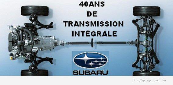 40 ans de transmission intégrale