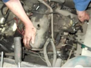 moteur Fiat 1100R