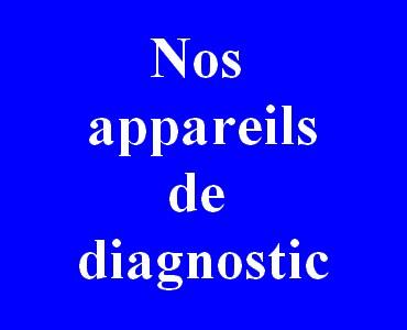 Appareils de diagnostic